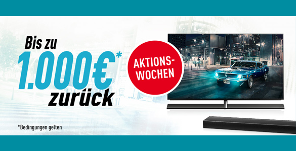 Panasonic Cashback-Aktion