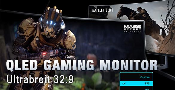 Samsung Gaming Monitor C49HG90