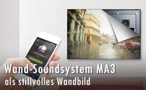 Wand Soundsystem myaudioart MA3
