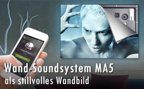 Wand Soundsystem myaudioart MA5