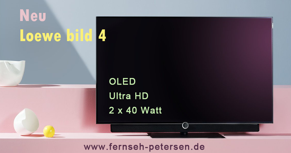 loewe bild oled ultra hd tv fernseh petersen. Black Bedroom Furniture Sets. Home Design Ideas